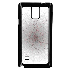 Physical Chemistry Circle Red Grey Samsung Galaxy Note 4 Case (Black)