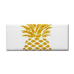 Pineapple Glitter Gold Yellow Fruit Cosmetic Storage Cases