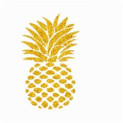 Pineapple Glitter Gold Yellow Fruit Small Garden Flag (Two Sides)