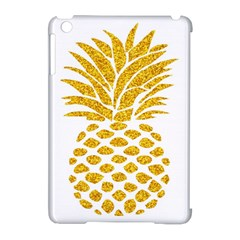 Pineapple Glitter Gold Yellow Fruit Apple iPad Mini Hardshell Case (Compatible with Smart Cover)