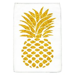 Pineapple Glitter Gold Yellow Fruit Flap Covers (l)