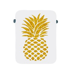 Pineapple Glitter Gold Yellow Fruit Apple iPad 2/3/4 Protective Soft Cases