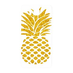 Pineapple Glitter Gold Yellow Fruit Samsung Galaxy Alpha Hardshell Back Case