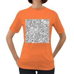 These Flowers Need Colour! Women s Dark T-Shirt