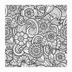 These Flowers Need Colour! Medium Glasses Cloth (2-Side)