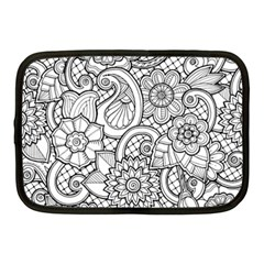 These Flowers Need Colour! Netbook Case (Medium)