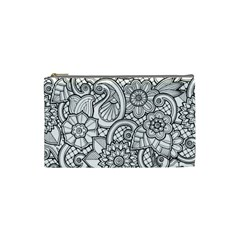 These Flowers Need Colour! Cosmetic Bag (Small)