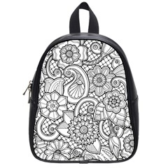 These Flowers Need Colour! School Bags (Small)