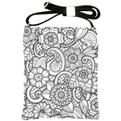 These Flowers Need Colour! Shoulder Sling Bags