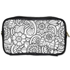 These Flowers Need Colour! Toiletries Bags