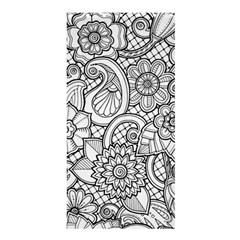 These Flowers Need Colour! Shower Curtain 36  x 72  (Stall)