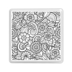 These Flowers Need Colour! Memory Card Reader (square)