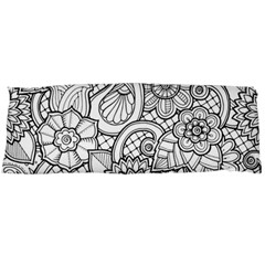 These Flowers Need Colour! Body Pillow Case (Dakimakura)
