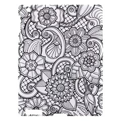 These Flowers Need Colour! Apple Ipad 3/4 Hardshell Case