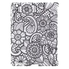 These Flowers Need Colour! Apple iPad 3/4 Hardshell Case (Compatible with Smart Cover)