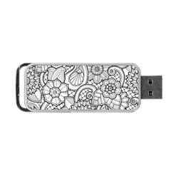 These Flowers Need Colour! Portable USB Flash (Two Sides)