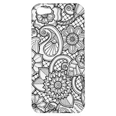 These Flowers Need Colour! Apple iPhone 5 Hardshell Case