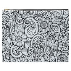These Flowers Need Colour! Cosmetic Bag (XXXL)