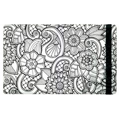 These Flowers Need Colour! Apple iPad 3/4 Flip Case