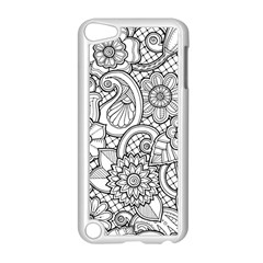 These Flowers Need Colour! Apple Ipod Touch 5 Case (white)