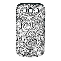 These Flowers Need Colour! Samsung Galaxy S III Classic Hardshell Case (PC+Silicone)