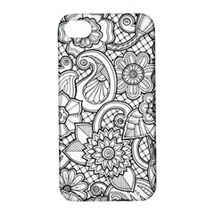 These Flowers Need Colour! Apple iPhone 4/4S Hardshell Case with Stand