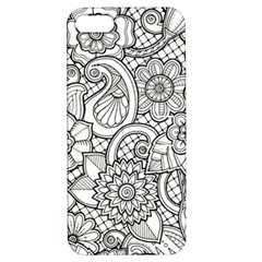 These Flowers Need Colour! Apple Iphone 5 Hardshell Case With Stand