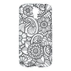 These Flowers Need Colour! Samsung Galaxy S4 I9500/I9505 Hardshell Case