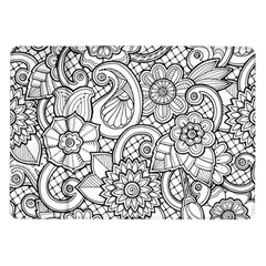 These Flowers Need Colour! Samsung Galaxy Tab 10.1  P7500 Flip Case