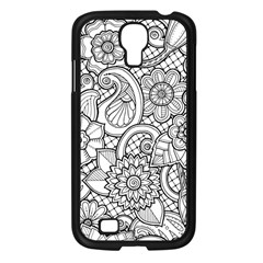 These Flowers Need Colour! Samsung Galaxy S4 I9500/ I9505 Case (black)