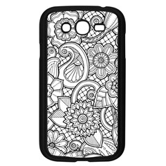 These Flowers Need Colour! Samsung Galaxy Grand DUOS I9082 Case (Black)