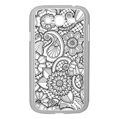 These Flowers Need Colour! Samsung Galaxy Grand DUOS I9082 Case (White)