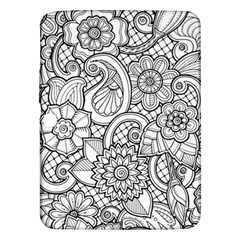 These Flowers Need Colour! Samsung Galaxy Tab 3 (10.1 ) P5200 Hardshell Case