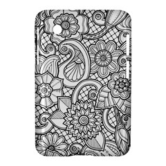 These Flowers Need Colour! Samsung Galaxy Tab 2 (7 ) P3100 Hardshell Case