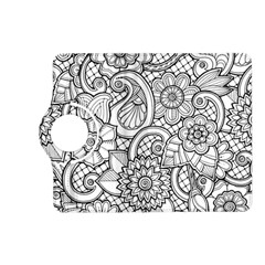 These Flowers Need Colour! Kindle Fire HD (2013) Flip 360 Case
