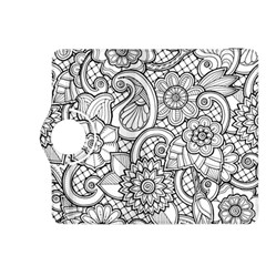 These Flowers Need Colour! Kindle Fire Hdx 8 9  Flip 360 Case