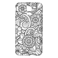 These Flowers Need Colour! Samsung Galaxy S5 Back Case (White)