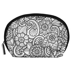These Flowers Need Colour! Accessory Pouches (Large)