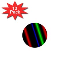 Multi Color Neon Background 1  Mini Buttons (10 pack)