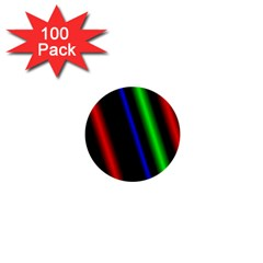 Multi Color Neon Background 1  Mini Buttons (100 Pack)