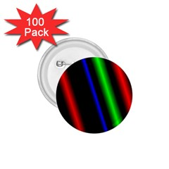 Multi Color Neon Background 1.75  Buttons (100 pack)