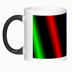 Multi Color Neon Background Morph Mugs