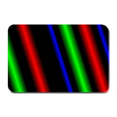 Multi Color Neon Background Plate Mats