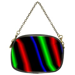Multi Color Neon Background Chain Purses (One Side)