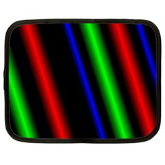 Multi Color Neon Background Netbook Case (xl)