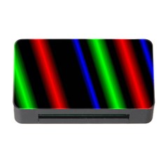 Multi Color Neon Background Memory Card Reader With Cf