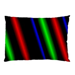 Multi Color Neon Background Pillow Case (Two Sides)