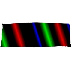 Multi Color Neon Background Body Pillow Case (Dakimakura)