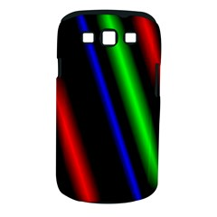 Multi Color Neon Background Samsung Galaxy S III Classic Hardshell Case (PC+Silicone)
