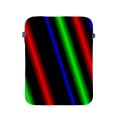 Multi Color Neon Background Apple iPad 2/3/4 Protective Soft Cases